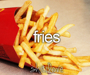 fries and food image