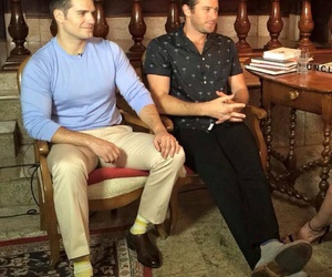 Henry Cavill, the man from uncle, and armie hammer image
