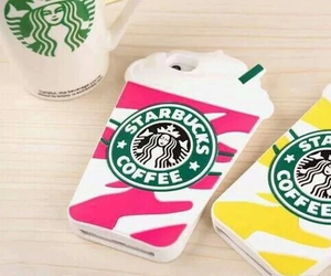 starbucks, iphone, and case image