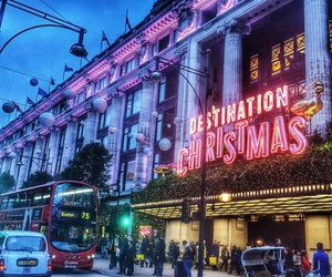 london, Oxford street, and selfridges image