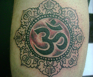 om, tattoo, and om tattoo image