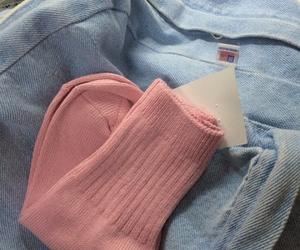 pink, pastel, and socks image