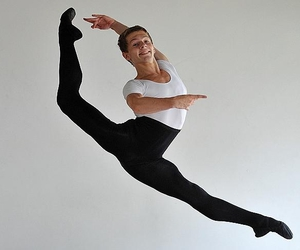ballet, dancer, and male image