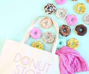 donuts, sweet, and delicious image