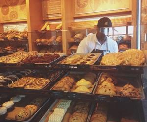 bakery, bread, and kawaii image