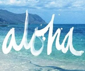 Aloha, sea, and summer image