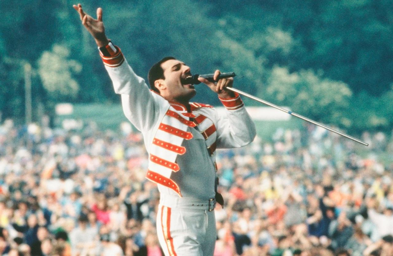 Queen, Freddie Mercury, and legend image