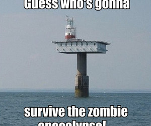 apocalypse, survive, and zombie image