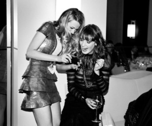 blake lively, black and white, and florence welch image
