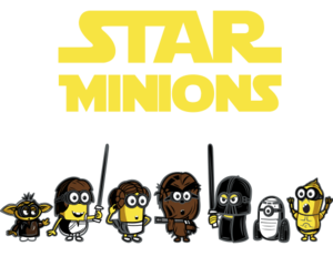 minions and star wars image