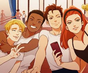 Avengers and natasha romanoff image