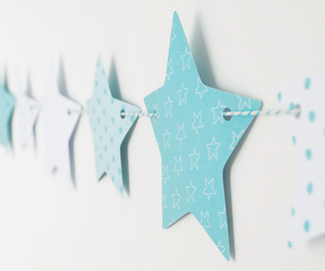 stars, blue, and cute image
