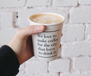 coffee, drink, and quotes image