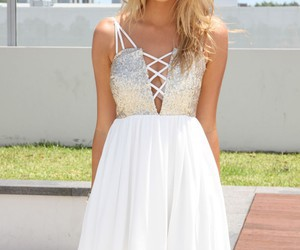 beautiful, dress, and girly image