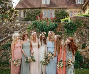 hippy, wedding, and wedding dress image