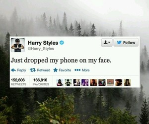Harry Styles, one direction, and tweet image