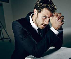 Jamie Dornan, handsome, and christian grey image