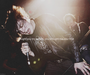 concert, live, and my chemical romance image