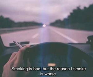 car, cigarettes, and drive image