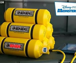 monsters inc, charger, and disney image