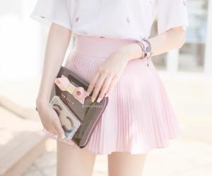 kfashion, korean, and pink image
