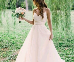 wedding dress and prides and grooms image