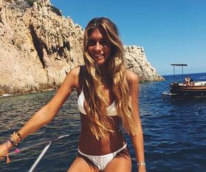 bikini and blonde image