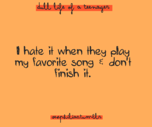 quote, music, and text image