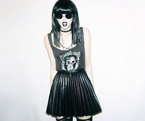 grunge, black, and goth image