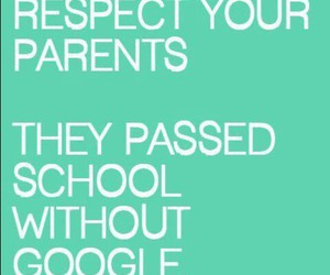 parents, respect, and google image