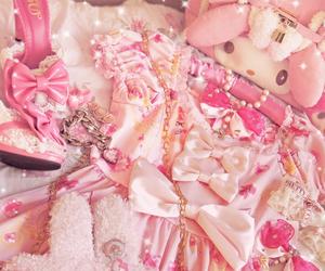dress, my melody, and sweet lolita image