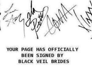 black veil brides, bvb, and band image