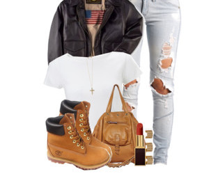 polyvore.com, autumnal outfit, and jesienny outfit image
