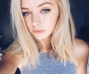 blonde, girl, and maddi bragg image