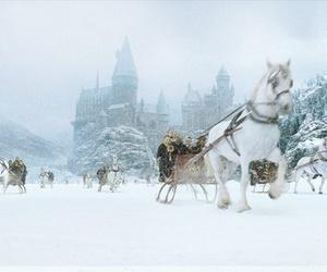 hogwarts, film, and harry potter image