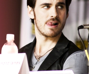 handsome, once upon a time, and killian image