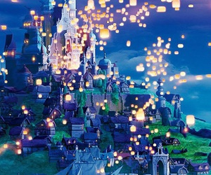 disney, light, and tangled image
