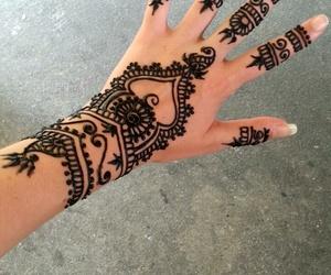 bangkok, henna, and tatoo image