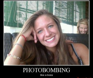 funny, lol, and photobomb image