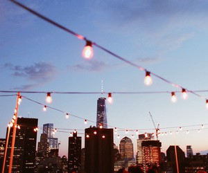 city, light, and lights image