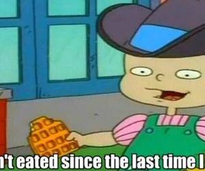 rugrats, food, and funny image