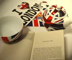 london, book, and england image