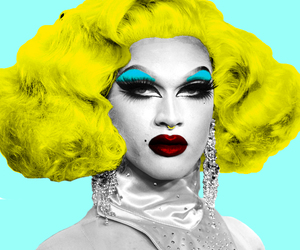 drag queen, pearl, and popart image