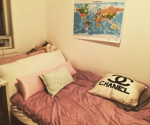 bedroom, chanel, and diy image