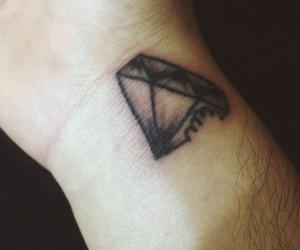diamond, tattos, and tatto image