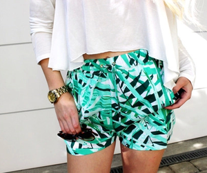 fashion, outfit, and tropical image