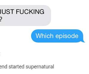 dean winchester, spn, and supernatural image