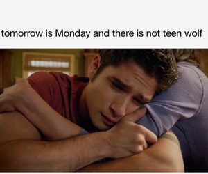 teen wolf and my reaction image