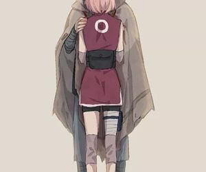 sasusaku, sakura, and anime image