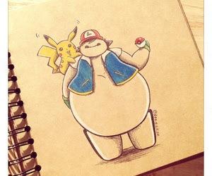 baymax, disney, and pokemon image